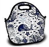 Neopren Kids - Fiambrera para niñas, diseño marino
