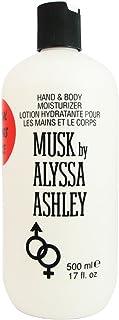 Alyssa Ashley - MUSK hand & body moisturiser - 500 ml