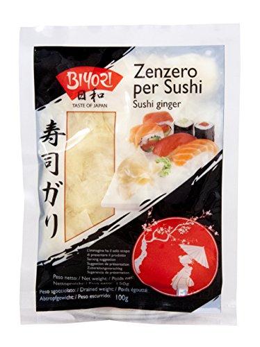 Rodajas de Jengibre Fresco Encurtido para Sushi - Biyori 150