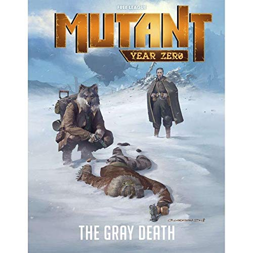MUTANT - YEAR ZERO - THE GRAY