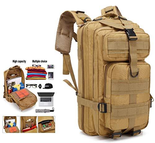 DUBAOBAO 30L wandelrugzak, geschikt voor grotere spullen zoals slaapzakken, kleding, laptops, enz, Schokbestendig en decompressie draagsysteem