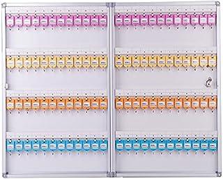Deli 50802 Key Cabinet for 96 Keys, 398 x 630 x 63mm