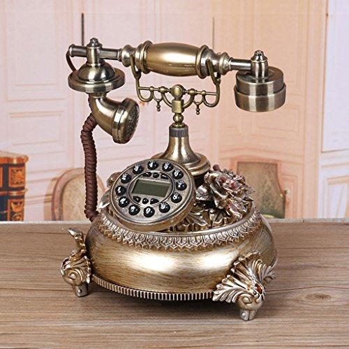 LXYFMS - Teléfono Fijo Estilo Europeo para Sala de Estar, Estilo Antiguo, para el hogar, Dormitorio, teléfono Creativo Retro