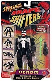Spider-Man Shape Shifters Venom Figure (Transforms to 3 Head