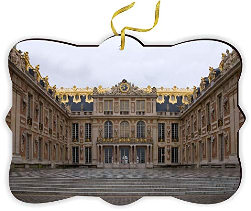 Sam Sandor - Versailles Palace - Palce Versailles - Fancy Christmas Tree Ornament with String