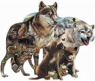 SUNSOUT INC Wolf Pack 1000 pc Jigsaw Puzzle