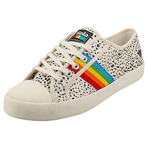 Gola Coaster Rainbow Cheetah voor dames Sneaker