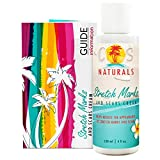 COS Naturals Stretch Marks and Scars Cream Natural Body Moisturizer Lotion with Peptides Vitamin C Hyaluronic Acid...