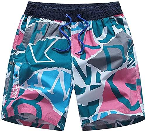 Ourjsncvns Men's Loose Casual Shorts Drawstring Elastic Waist Summer Beach Shorts Wide Leg Fit Comfy Lounge Short Pants