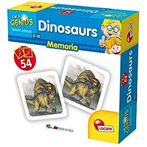 Lisciani Giochi 58952 Gioco I'm a Genius Memoria 100 Dinosaurs