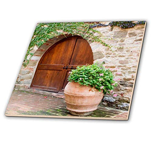 3dRose CT 208867_ 1Italien, Toskana. Castello D 'albola Kombi in der Chianti-Region. -Ceramic Fliesen, 10,2cm