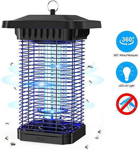 Aerb Mosquito Killer Lampe Leistungsstarker elektrischer Bug Zapper mit UV-Lichtfalle Indoor Outdoor Moskito Fliegen Insektenfänger Killer Schädlingsbekämpfung Schützt für Patio auf Reisen nach Hause