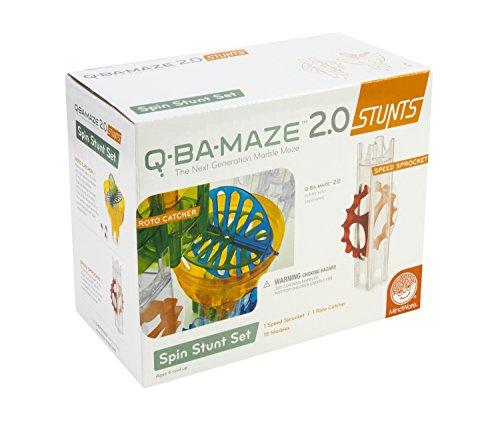 MindWare Q-BA-Maze 2.0 Spin Stunt Set