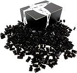 Gustaf's Sugar Free Black Licorice Bears, 2.2 lb Bag in a BlackTie Box