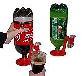 TaoNaisi Bottiglia per bevande a testa in giù per bere fontana interruttore bevente distributore di acqua portatile
