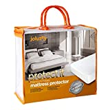 joluzzy Waterproof Mattress Cover - Cotton Terry Surface - Breathable...