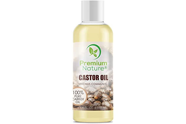 c39d05a110a Castor Oil Pure Carrier Oil - Cold Pressed Castrol Oil for Essential Oils  Mixing Natural Skin Moisturizer Body & Face Oil, Eyelashes Eyebrows Lash &  Hair ...