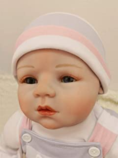 Kaydora Reborn Baby Doll, 22 inch Soft Weighted Body, Realistic Handmade Silicone Doll