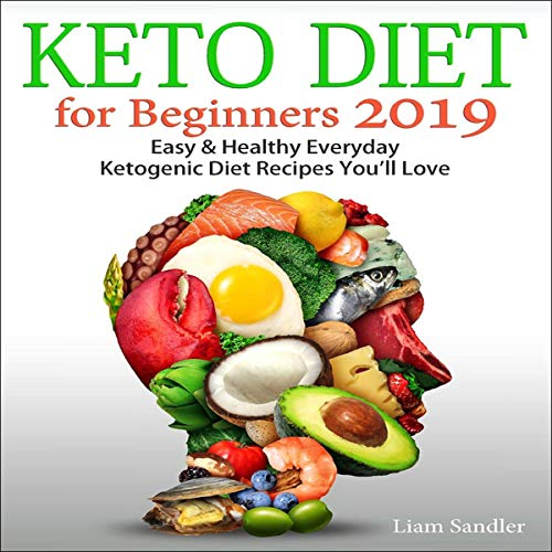 Keto Diet for Beginners 2019 Titelbild