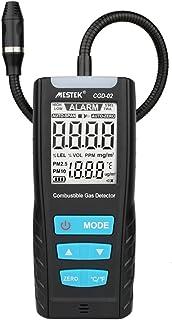 Analizador de gases, Detector MESTEK de sensores de gases combustibles para vehículos, Monitoreo de la calidad del aire, la sensibilidad no es ajustable,Detectores de fugas de gas con alarma