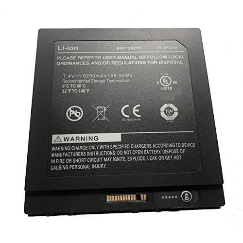 Backupower Ersatz Akku 7.4V 68.45Wh 9250mAh 909T2021F Batterie Kompatibel mit Xplore iX104 Tablet PC Serie BTP-80W3 BTP-87W3 11-01019