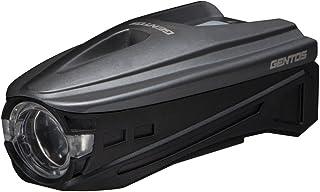 GENTOS(ジェントス) バイクライト USB充電式 【明るさ220ルーメン/実用点灯1.5時間/防滴/広範囲照射】 メタルグレイ AX-007GR ANSI規格準拠