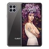 CUBOT C30 Smartphone ohne Vertrag 8 + 128 GB,48MP AI Quad-Kamera,6,4 Zoll FHD Punch-Hole Bildschirm, 4200mAh Akku, Globales 4G LTE Dual SIM Handy Android 10.0 NFC Face ID Fingerabdruck (Schwarz)
