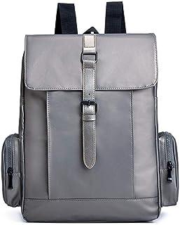 Crylee Man Crossbody Bag Canvas Shoulder Handbags Hiking Daypacks Bags Backpack Camping Messenger Bag Adjustable Strap Personality Outdoor Mens Multi Function Small Bag 22x17x9cm