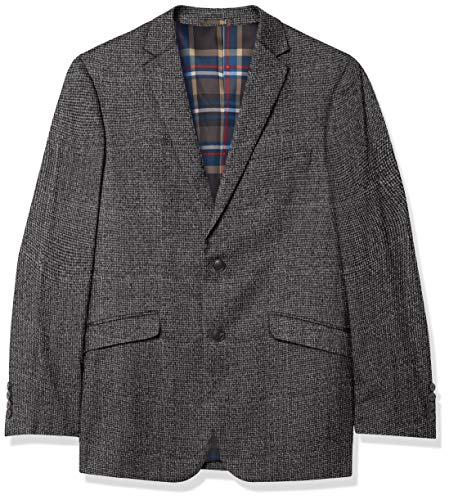 U.S. Polo Assn. Men's Cotton Sport Coat, Gray, 44 Regular