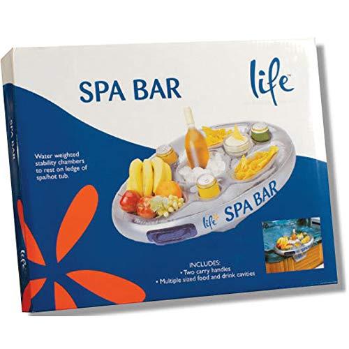 Officiële 'Perfect Pools' Spa Bar Opblaasbare Hot Tub Side lade voor drankjes en snacks - Perfect voor zwembad partijen!