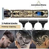 Zoom IMG-2 tagliacapelli uomo professionale tagliatrice capelli