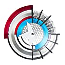 アベンジャーズ エンドゲーム キャプテン・アメリカ 1/1 金属製 プロトタイプ シールド 専用ディスプレイ台座付き MANDO STUDIO プロップ レプリカ マーベル MARVEL