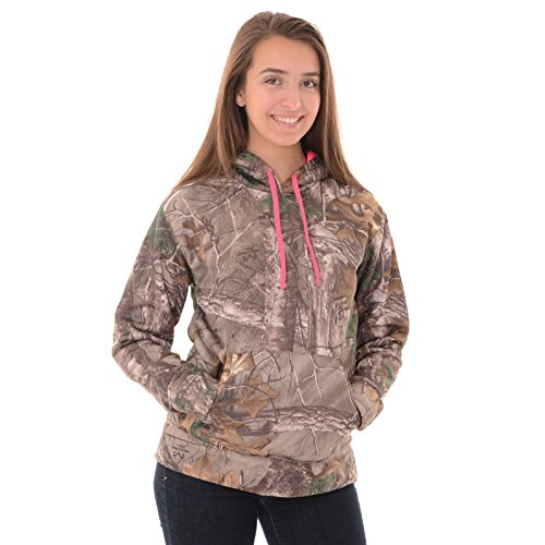 Realtree Women's Performance Pullover Fleece, XX-Large, Realtree Xtra