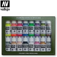 70112 Model Colour Wargame Special 16 Colour Acrylic Paint Set