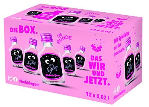 Kleiner Feigling Bubble Gum (12 x 0,02l ) Marken- Likör aus Deutschland 25506, 0.02 l