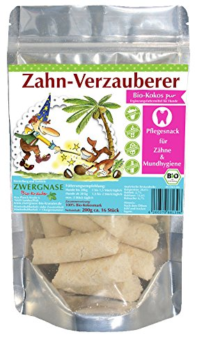 "Zwergnase \""Zahn-Verzauberer Bio-Kokos, 5er Pack (5 x 180 g)"