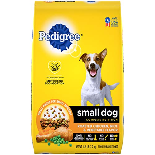 Pedigree Small Breed Adult Dry Dog Food, Chicken & Steak For Pugs