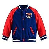 Disney Store Planes Fire & Rescue Varsity Jacket for Boys Size M Medium 7-8 Red