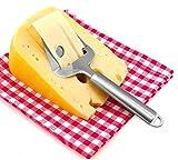 Star Ssto multifunzione taglia formaggio formaggio in acciaio INOX taglierina per formaggi a pasta dura, prosciutto affettato, torte e tortini