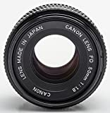 Canon Lens FD 50mm 50 mm 1:1.8 1.8 - A-1 AT-1 T70 AE-1 F-1 FE