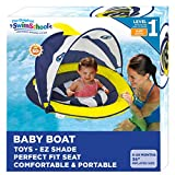 SwimSchool Deluxe Infant Baby Pool Float with Splash & Play Activity...
