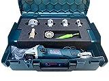 Bosch L-BOXX - Juego de brocas de diamante para azulejos y lijadora angular...