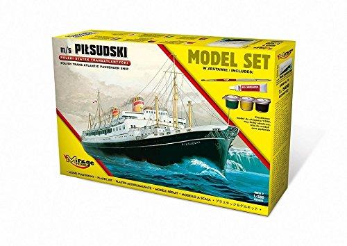 Mirage Hobby 850092 – Modèle Kit M/S Pils udski Trans Kit de Atlantic Passenger Ship Model