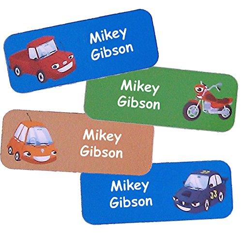 Namen-Aufkleber, personalisierbar, wasserdicht, mit vielen Farben, für Kinder