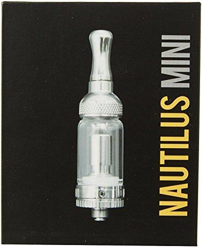 Aspire Nautilus mini BVC im Set mit 2 Vertikal Dual Coil Verdampferköpfe, wechselbarer Pyrex-Glastank, Cone und DripTip! eZigarette