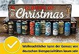12 Biers of Christmas von Kalea, 12 x 0,5 l deutsche Bierspezialitäten, Geschenksidee zu Weihnachten für Männer