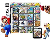 510 In 1 NDS Game Pack Card Compilations, Super Combo Multicart DS Game Card for Nintendo DS, NDSL, New 3DS, 2DS, New 2DS, NDSi, NDSi LL/XL, 3DS, 3DSLL/XL