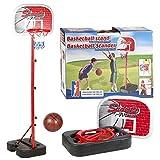 Inside Out Toys Set de Canasta de Baloncesto para niños - Sin fijación a la...