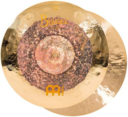 Meinl Cymbals Byzance Dual Hihats, 35,6 cm (14 Zoll), hergestellt in der Türkei, B20 Bronze, 2 Jahre Garantie (B14DUH)