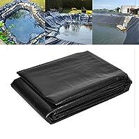 LJIANW人工池用透湿防水 池ライナー大0.6MMガーデンプール膜造園不浸透性フィルムにとってウォーターガーデン鯉の池ストリーム噴水 (Color : Black/0.6mm, Size : 3x6m)